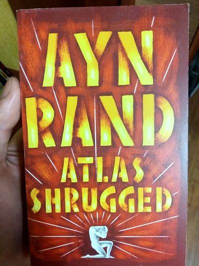 Книга Atlas Shrugged Атлант Расправил Плечи