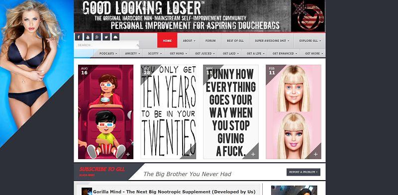 Блог По Саморазитию Для Мужчин Good Looking Loser