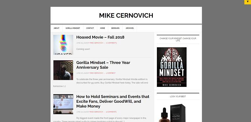 Блог По Саморазитию Для Мужчин Майк Сернович